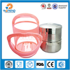 Double Wall stainless steel thermal lunch container food carrier / insulation lunch box