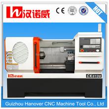 Torno máquinas para sale-CK6136 portátil pequeño cnc centro <span class=keywords><strong>de</strong></span> torneado con precio y 8 ''chuck 58mm diámetro interior