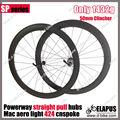 2013 Mejor 50mm remachador del camino del carbón rueda de bicicleta de venta