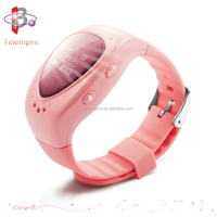 New design high quality voice conversation wrist phone gps kid watch
