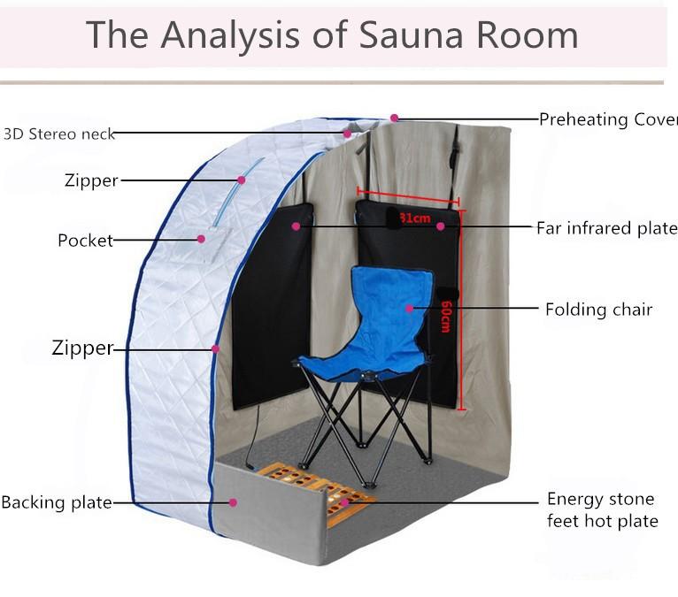 outdoor bagno turco sauna sauna a vapore portatile prezzo a buon mercato automatico della