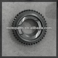 Russian car volga parts gear/elevator gear shaft machine,lada gear shaft,motorcycle primary drive gear