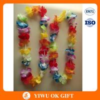 Colorful Hawaiian Flower Hula Leis Garland
