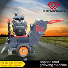 New asphalt road grooving machine pavement crack router