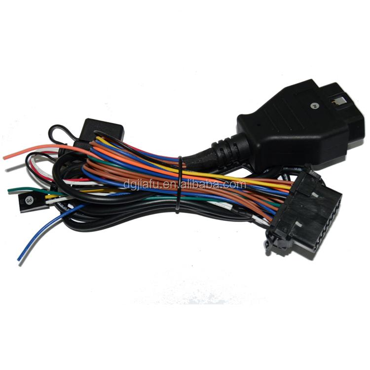 OBD 16pin male connector