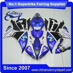FFKYA007 Motorcycle Fairing Kit For R1 2012 2013 2014 Movistar