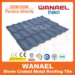 Colorful Stone Coated steel Roofing in Africa classical tile