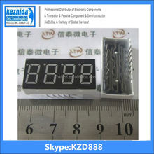 """(Shop direct selling) Wholesale 0.36"""" inch 4 Digits 7 Segment Segment Red LED Numeric Digital Display Common Cathode"""