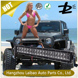 Chinese factory best price 30 inch 180W curved led light bar off road
