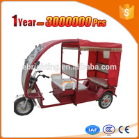 safe solar tricycle for passenger with open body
