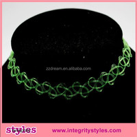 Trending Hot Products Rainbow Tattoo Choker Necklace