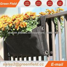 Crisol de flor plantador, plantadora vivir pared maceta
