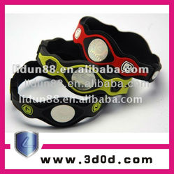 2012 fashion energy bangles rubber
