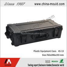 45-13 black plastic hard gun case