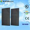 Bluesun top quality mono 24v 280w solar panels high efficiency