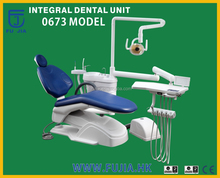 Fujia dental unit accessories with deluxe chair for dentist