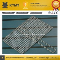 galvanized barbecue grill wire mesh/BBQ Grill Netting priceform China supplier
