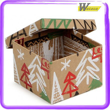 Canada Maple Tree Chirstmas Square Gift Bag