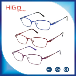 NEW TITANIUM FRAME FASHION METAL GLASSES WOMEN EYEWEAR SPECTACLE FULL RIM OPTICAL FRAME
