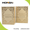 Luxury Golden Book-Shape Cardboard Packaging Gift Boxes