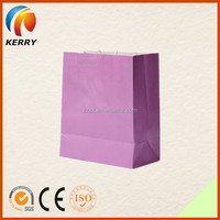 Custom Eco-friendly Grocery Twisted Handle Paper Bag For Clothing