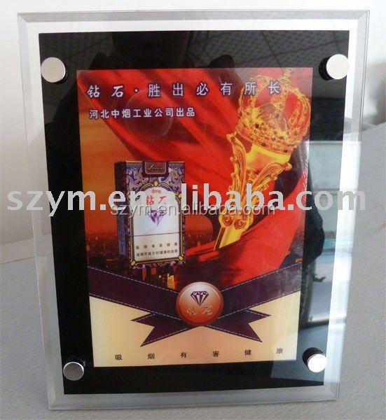 LED Crystal Light Frame with Battery