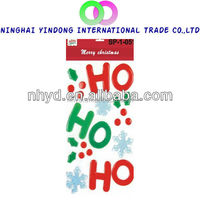 Hotsell Christmas window stickers Home decoration gel clings