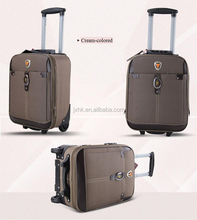 2015 printing PC trolley luggage hot selling carry-on pc abs luggage