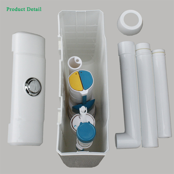 Cistern fitting wall mounted toilet tank htd c