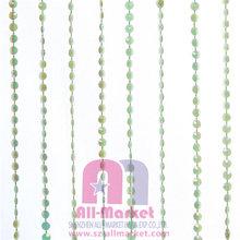 Hot Selling Hanging Iridescent Green Small Diamond Beaded Curtain