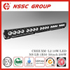 NSSC High Lumens CREE XM-L2 10w car led light bar 12v 50 inch 200w
