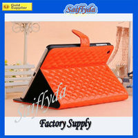 2013 Hot sales Luxury Stand Leather case for ipad mini