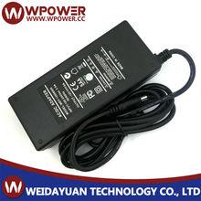 12V 8A desktop adapter with quality CUL.UL KC SAA Class 2 list standard 96w led driving light