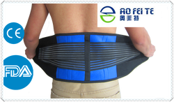 Hot new products for 2015 customized exercise abdominal full size back support brace waist band for man