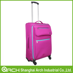 lightweight pink airport trolley luggage for women