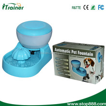 PW-03 automatic dog water fountain with two colors