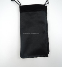 wholesale china custom black cotton jewelry pouches