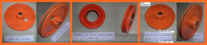 GG25 Sand Casting V Belt Pulley