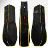 All black golf rain cover for golf cart bag
