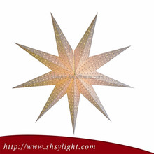 Hanging paper star lantern for decoration Festival to celebrate Custom Made Christmas Ornaments