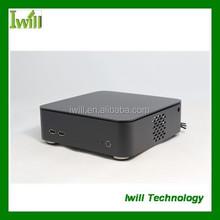 Iwill M5 fanless mini itx htpc case /aluminum computer case