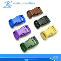 """1/2"""" side release buckle 1/2'' curved buckle quick release buckle"""