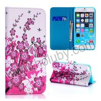 Wallet Style PU Leather 2014 China Wholesale Case for iPhone 6 Plus Cover