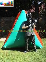 Battle Inflatable Paintball Marker, Inflatable Bunker For Paintball