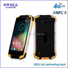 2015 shenzhen factory high tech 4G waterproof smartphone with high Pixel X9