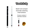 electronic cigarette vaporizer inhalers touch pen vaporizer china wholesale with high quality and factory price