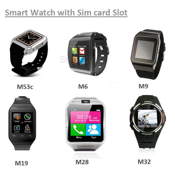New Arrival! Capacitive Touch Bluetooth Smart Watch with sim card slot M53c can sync call phonebook and SMS
