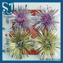 Trade Assurance Hot Selling Beautifl Christmas Tinsel Garland for Christmas Decoration and Wedding Decoration