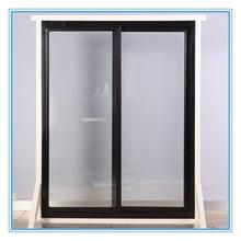 Counter top freezer glass door with flexible handles