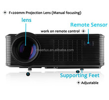 lowest price brand new cheerlux CL740 native 800*480 projector for home entertainment
